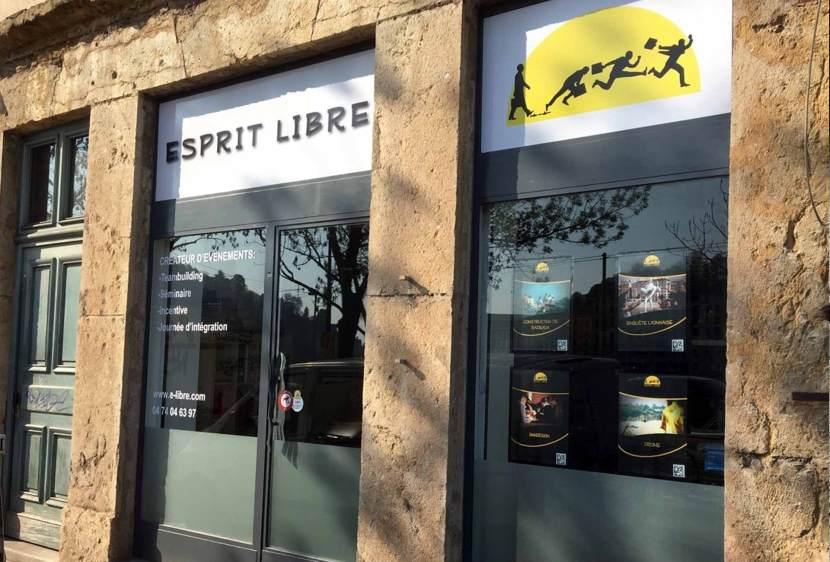 Locaux Esprit Libre Lyon organisateur de teambuilding, d'évènement d'entreprise séminaire.