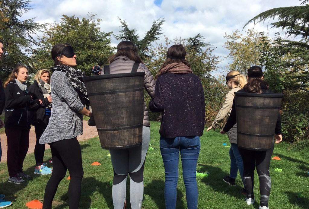 Team building olympiade viticole oenologie