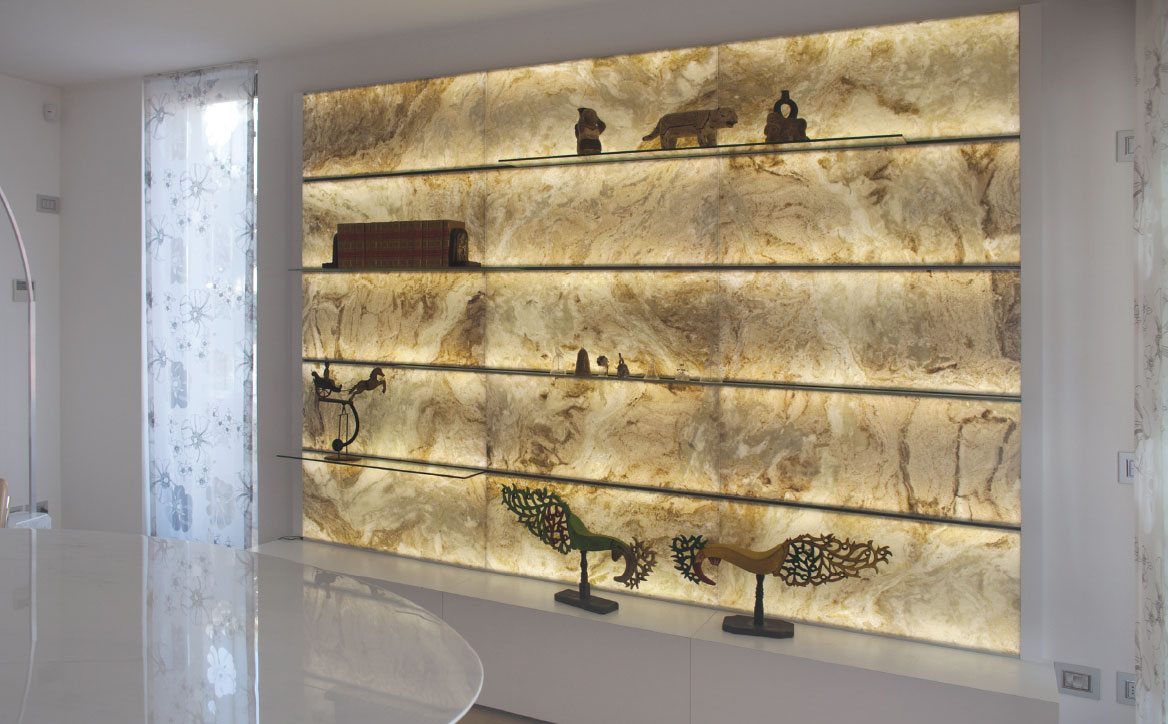 ELight Stone System by Elite Stone Backlit Onyx and Marble