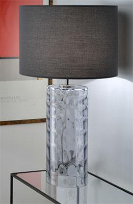 lampe a poser valentin pied en verre souffle 1 lampe