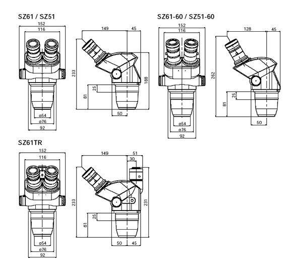 Mikroskop stereoskopowy Olympus SZ51 R