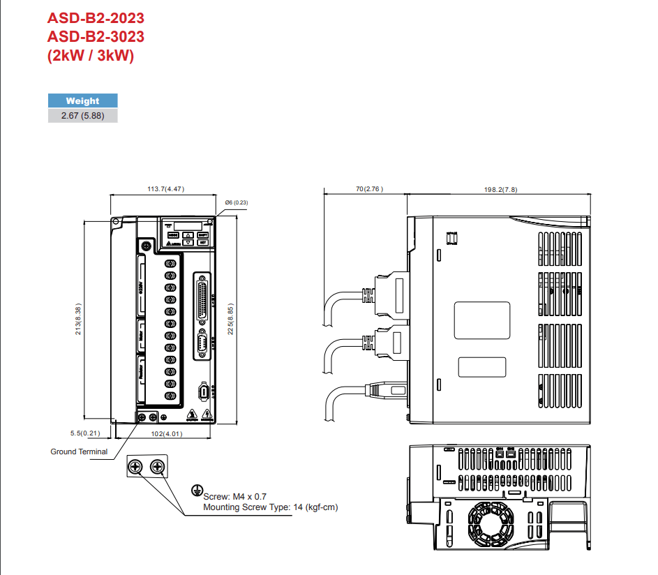 Delta: AC Servo Drives ASD-B2-0121-B