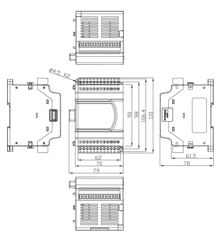 Delta: Analog I/O Modules (DVP04AD-E2)