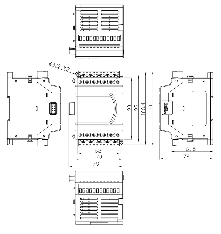 Delta: Analog I/O Modules (DVP06XA-E2)