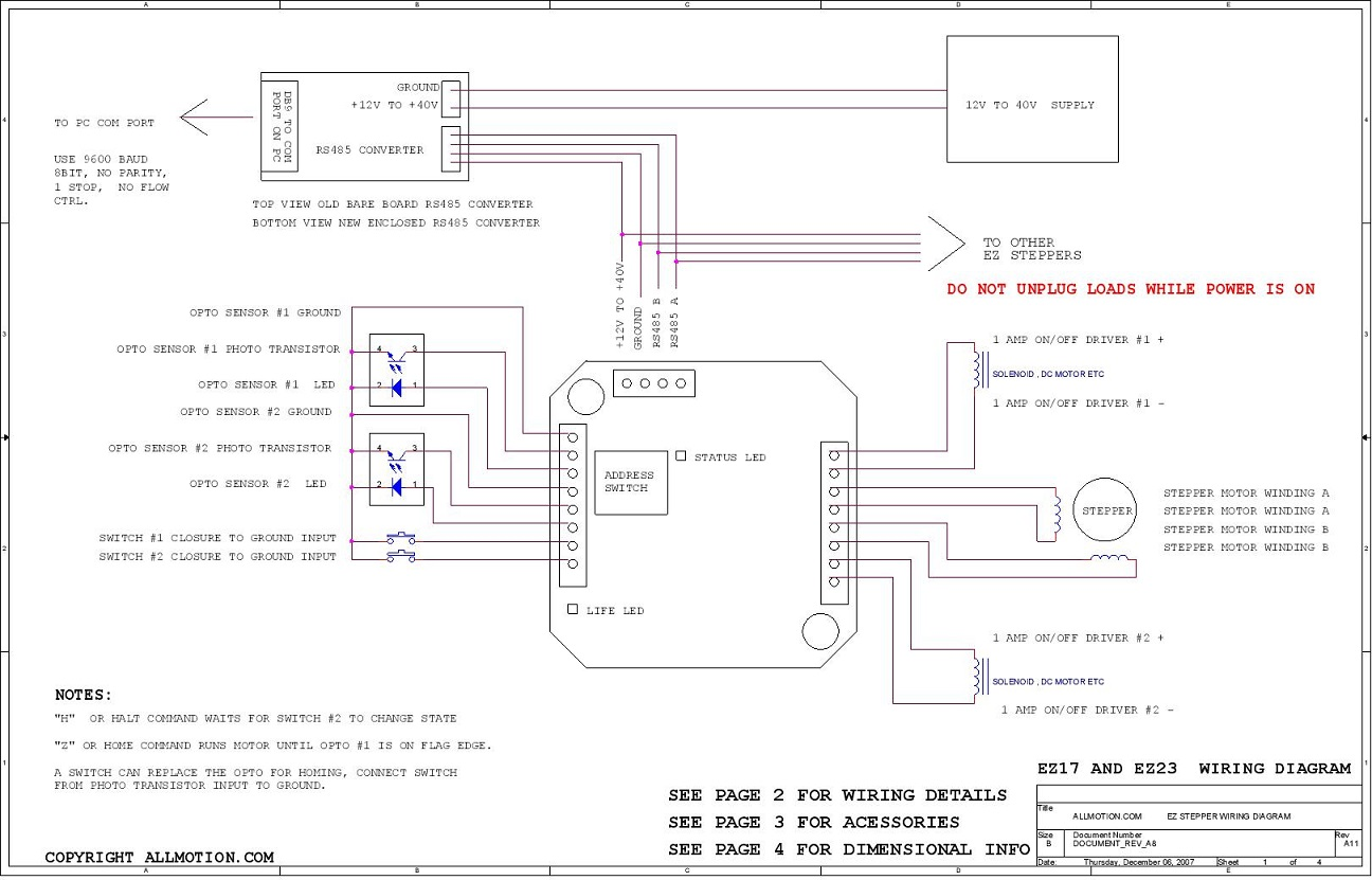 absolute encoder wiring diagram 24 volt for trolling motor