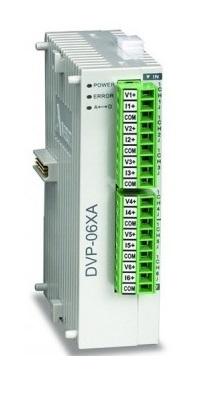 Industrial Wiring Diagrams Delta Mixed Analog Input Output Module Dvp06xa S