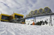 Switzerland unveils world's steepest funicular railway