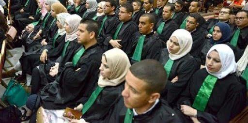 تسجيلات مسابقة توظيف المدرسة العليا للقضاء 2021