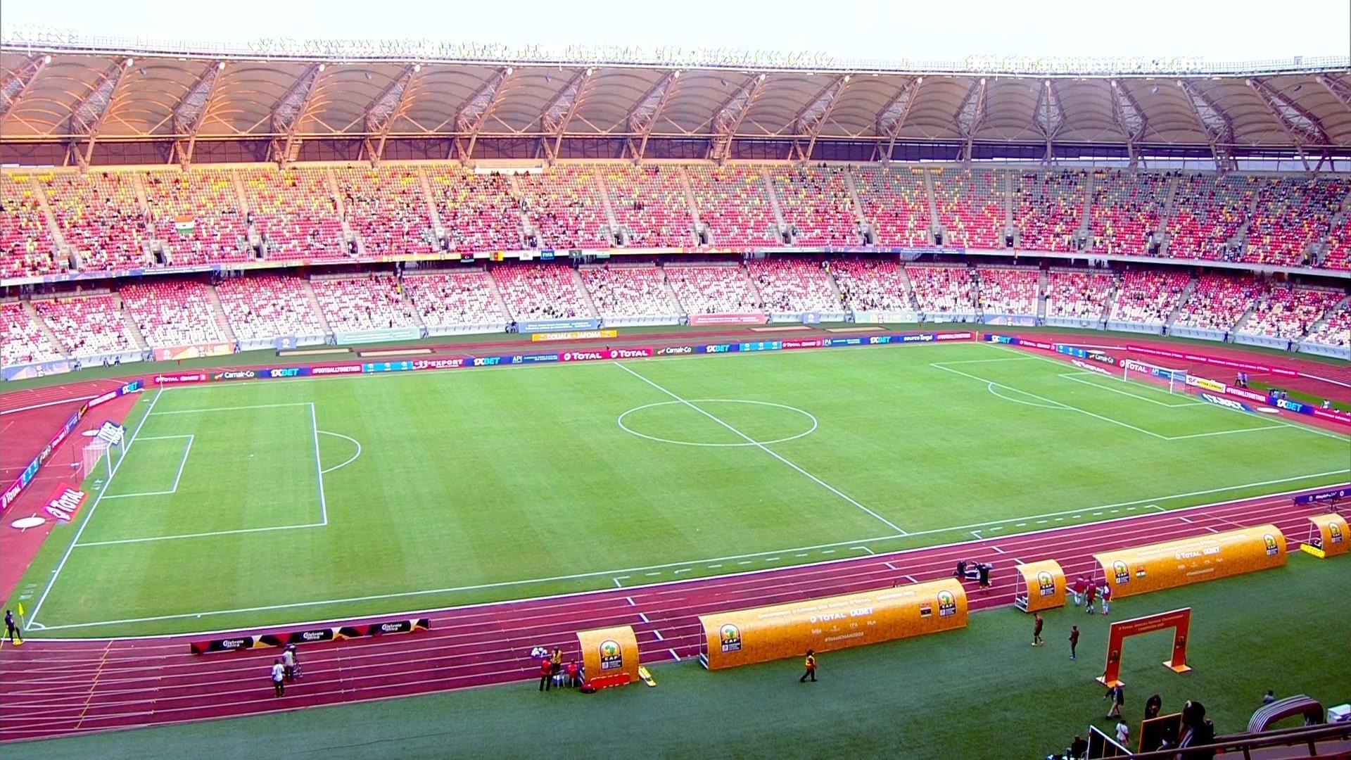 ملعب جاموبا دوالا بالكاميرون ، الذي سيحتض مباريات المجموعة الخامسة