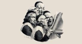 Les chantres, Louis Boilly