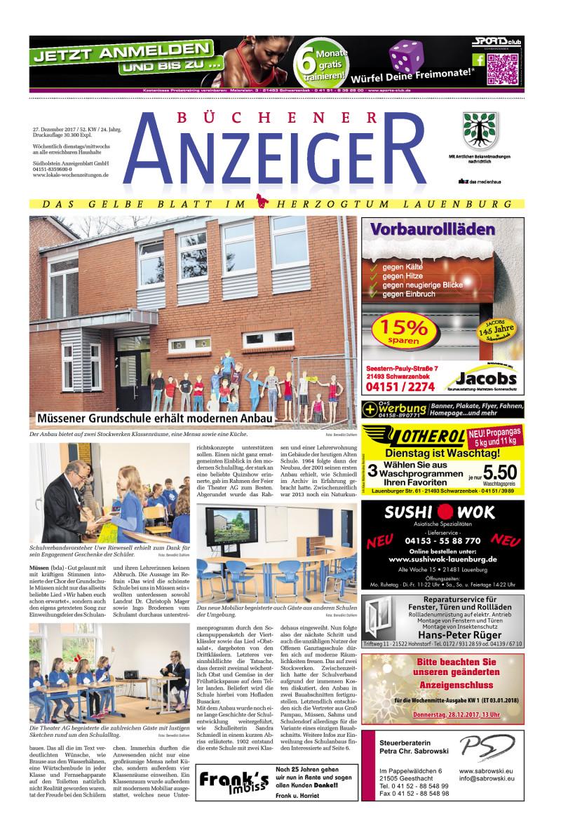 Büchener Anzeiger - 27.12.2017