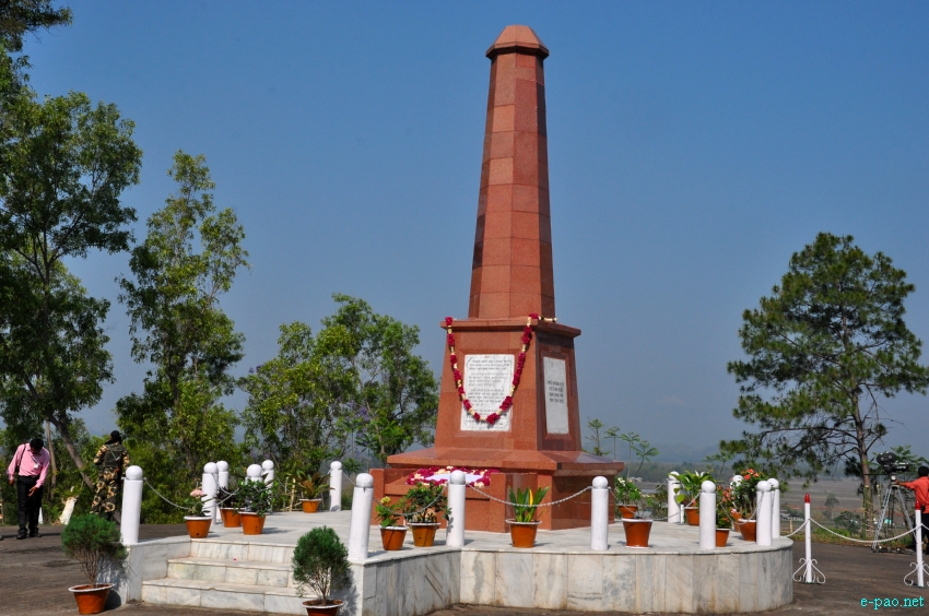 Image result for khongjom war memorial