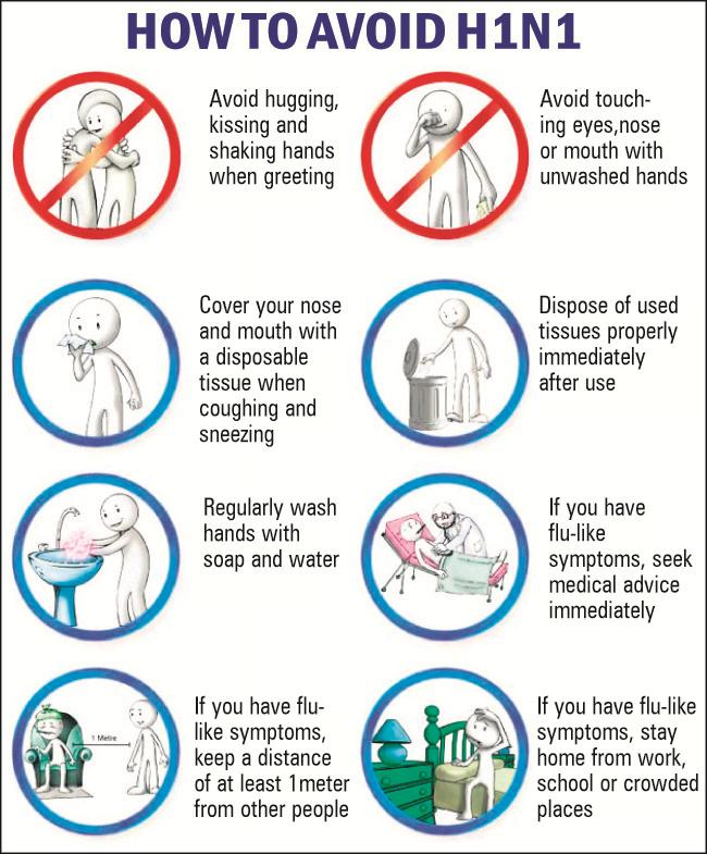 Swine flu Symptoms tips to avoid H1N1 virus 20150309