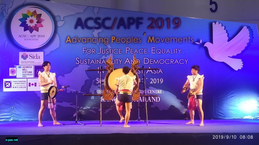 ASEAN Peoples Forum (ASF) held from 10 - 12th September 2019 at Thammasat University, Thailand