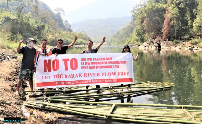 Stop Building Dams in Manipur - Let the Rivers Flow free - River Day 2021 at Nheng (Langpram) Village, Manipur