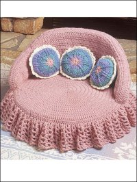 Free Crochet Patterns For Cat Beds ~ Dancox for