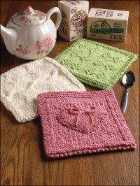 Knitting - Home & Kitchen - Kitchen Patterns - Pot Holder ...