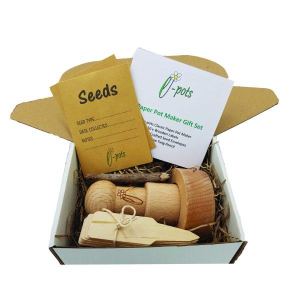 e-pots Pot Maker Gift Set contents in box