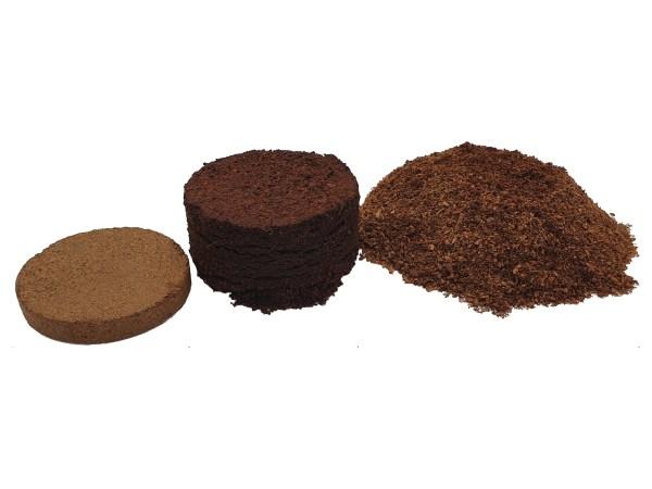 e-pots 10cm coco coir discs re-hydrating