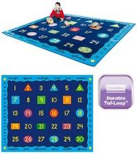 e4e School and Nursery Carpets - Shapes and Colours