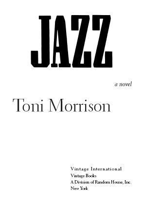 6 books of Morrison Toni