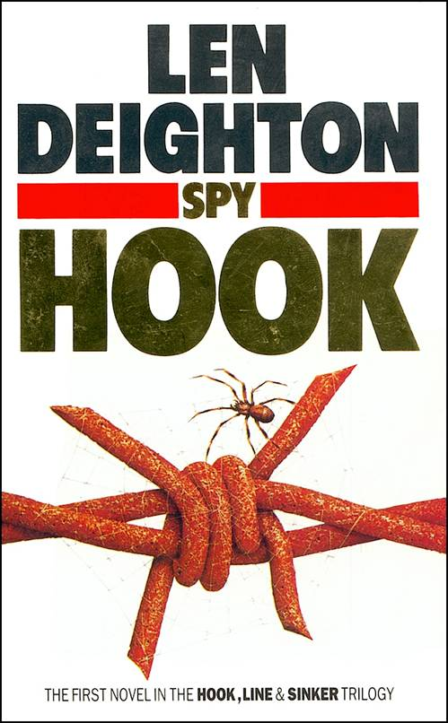 Grafton paperback cover of Spy Hook
