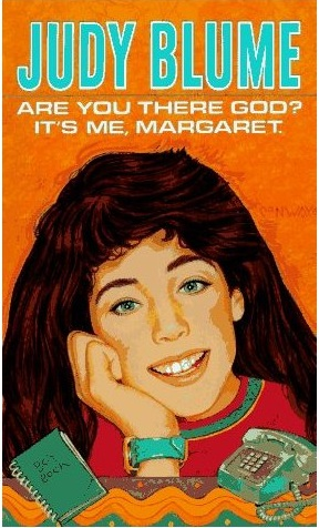 Vintage Book Cover: Are You There God? It's Me Margaret