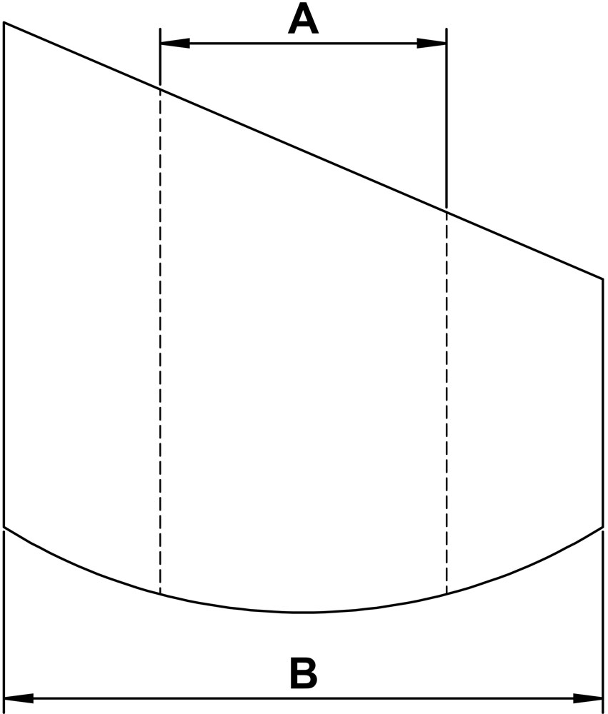 medium resolution of angle washers diagram of 65 degree angle diagram of 33 degree angle