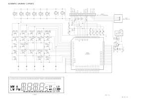 Aiwa CDCX1400 Schematic Diagram Main  Front in PDF