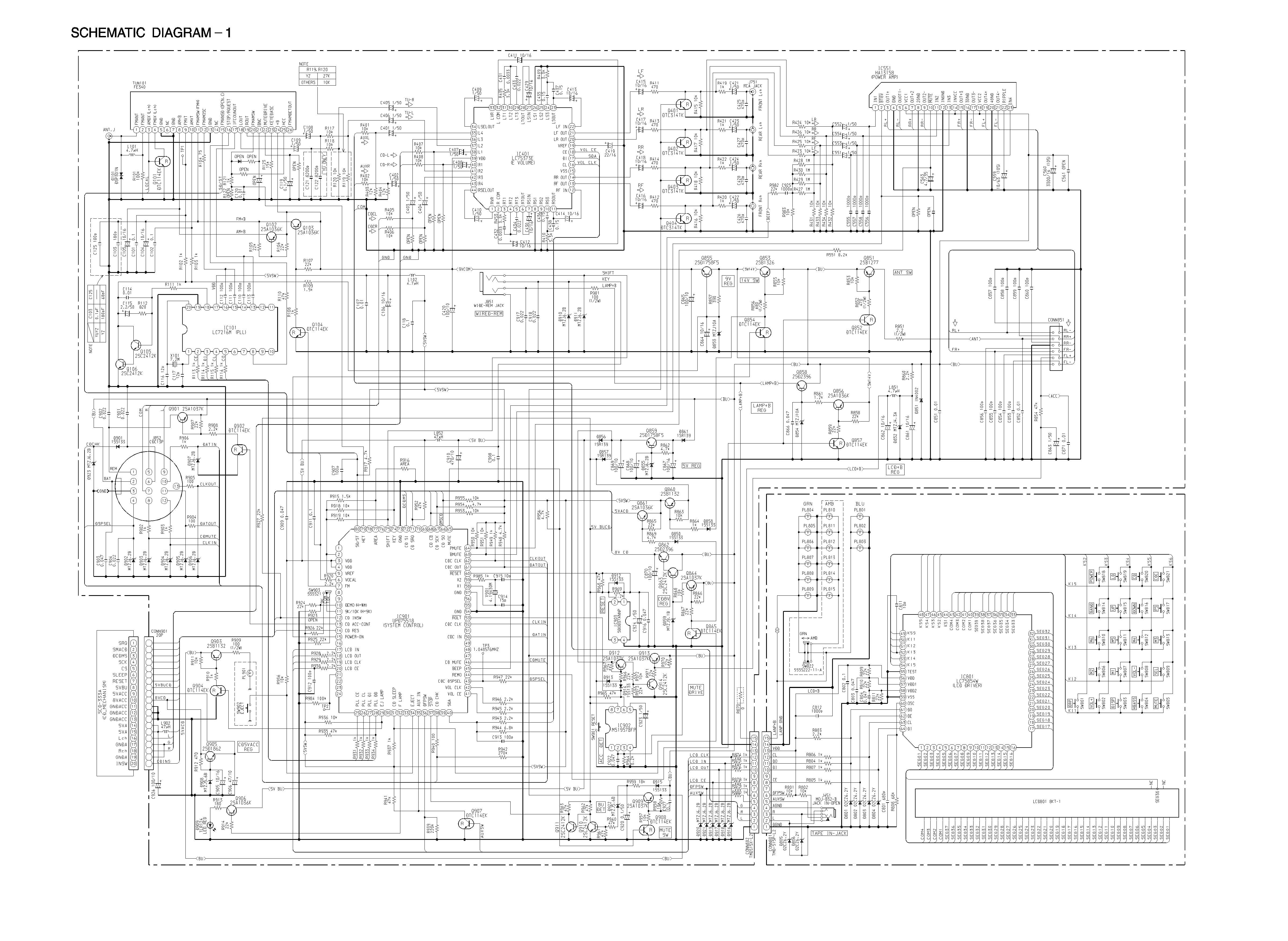 Aiwa 175 Schematic Diagram In Format E