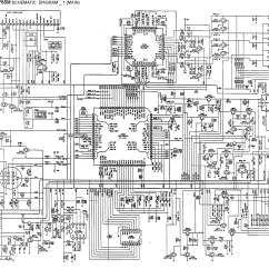 Free Electronic Circuit Diagram Ford E 350 Parts Aiwa Cdc X 1765m Schematic Main Front In Pdf