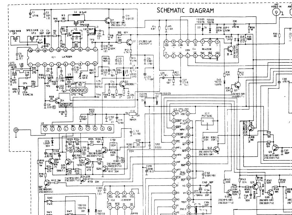 medium resolution of crt tv schematic diagram wiring diagram advance philips crt tv schematic diagram crt tv schematic diagram