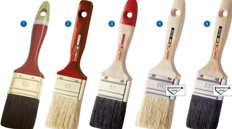 Четка за боядисване - Как да изберем?