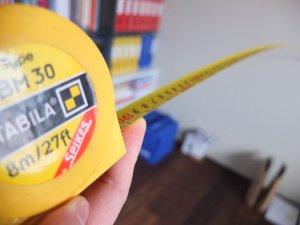 Измервателна лента на ролетка