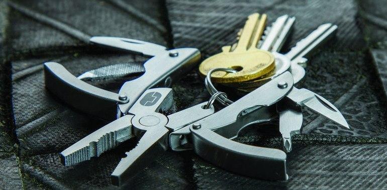 Ключодържатели с много допълнителни функции и възможности