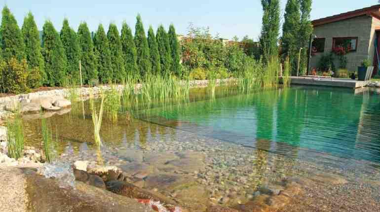 Езеро за къпане и био-басейн