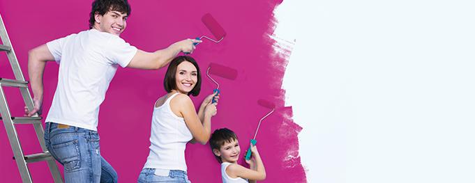 Как да подготвим стените за боядисване?