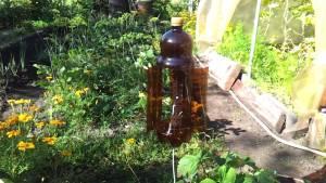 Вятърно колело от пластмасови бутилки