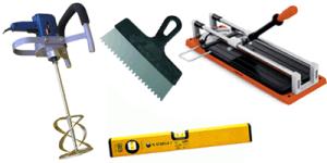 Основни инструменти за полагане на плочки