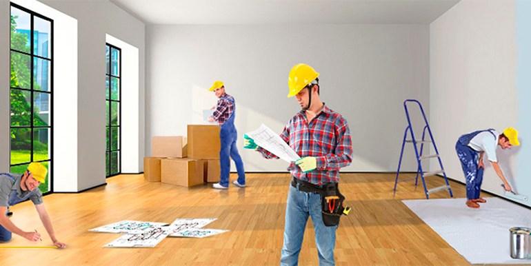 Правим ремонт на жилище