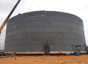 строителство на вертикални цилиндрични заварени резервоари