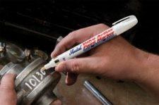 металлические маркеры для промасленных поверхностей