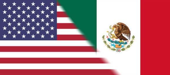 Resultado de imagem para estados unidos mexico