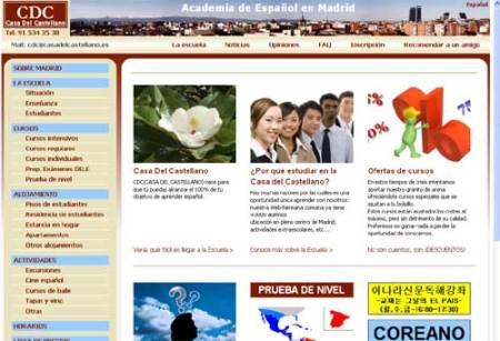 web academia de español