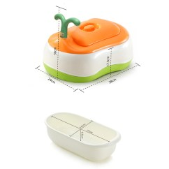 3 In 1 Potty Chair Office And Ottoman Set Babyyuga Training Toilet Seat Step
