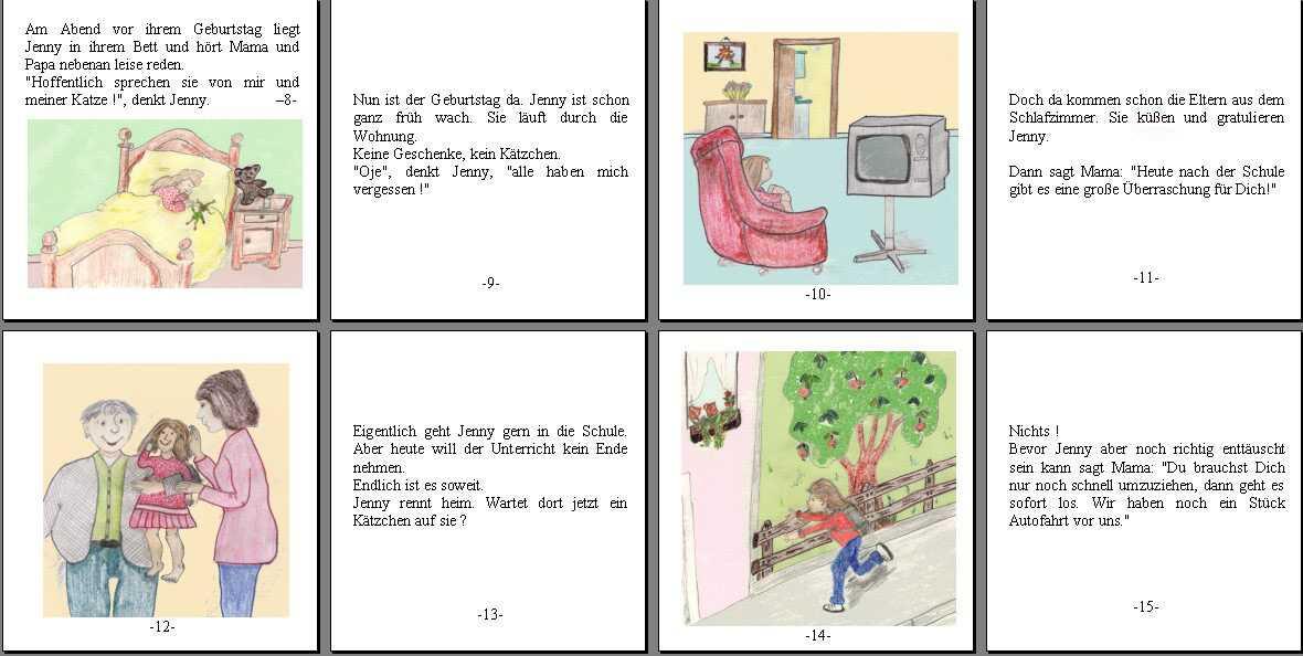 Kurzgeschichte Eine Bildergeschichte von Susanne Cramer