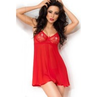 Γυναικείο Babydoll - Chilirose Red Babydoll and String CR-3852-Red