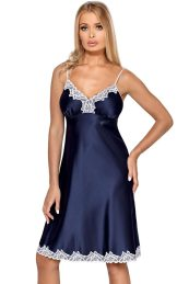 Γυναικείο Babydoll -Hamana Loris Nightdress Μπλε HA-Nightdress-Loris