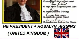 DAY 1st BRUSSELS ROSALYN HIGGINS SIGNED IN 2007 AS THE PRESIDENT OF THE INTERNATIONAL COURT OF JUSTICE THE ACCOUNTS WITH LARGE AMOUNTS IN USD USD AND 198 COUNTRIES ... !!! TRUSTS