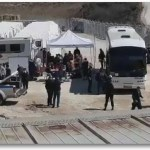 Καταφθάνουν λεωφορεία με μετανάστες στο Σιδηρόκαστρο Σερρών εν μέσω Πανδημίας
